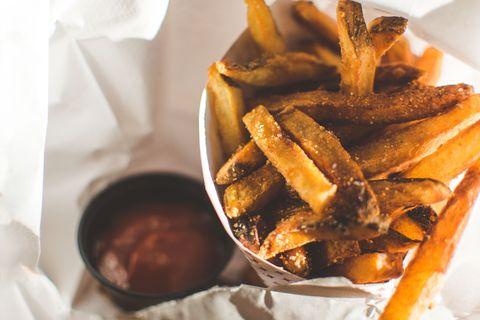 Dish, Food, Cuisine, Junk food, Fried food, Ingredient, Potato wedges, Side dish, Fast food, Produce,