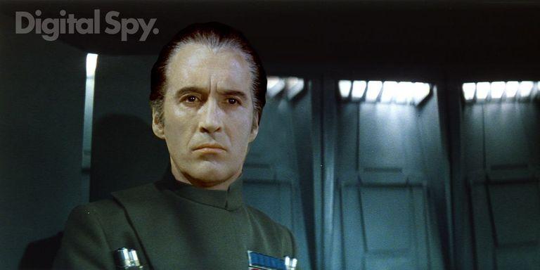 Gobernador Tarkin: Christopher Lee Star Wars George Lucas