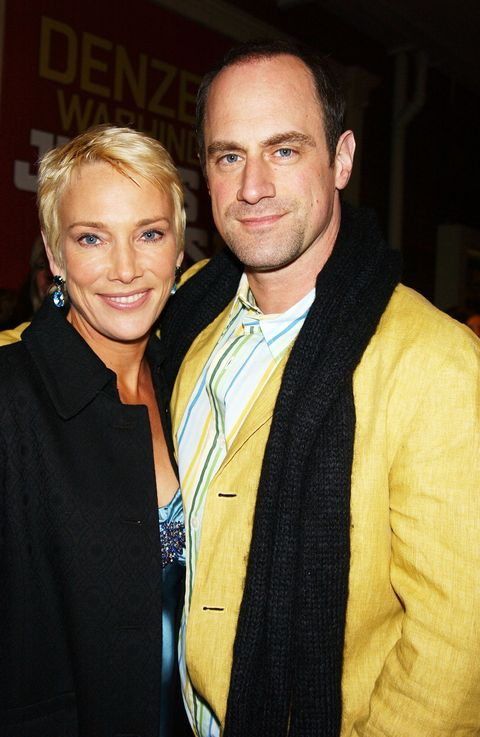 Christopher Meloni And Wife Sherman Williams The Law Order