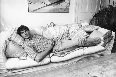 christopher reeve moda años 80 fotos