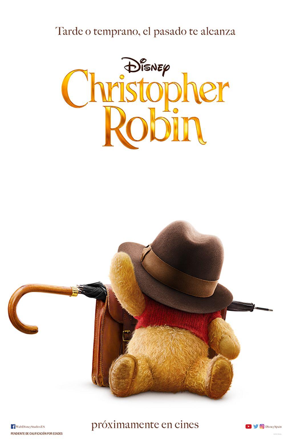 """Christopher Robin"" póster"
