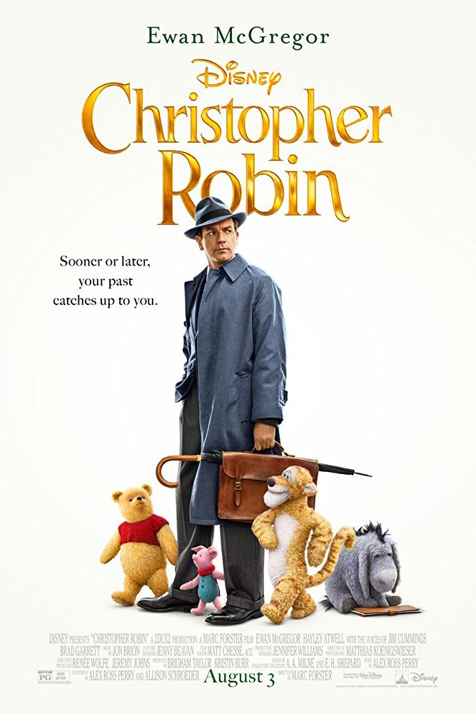 christopher robin - movies based on books