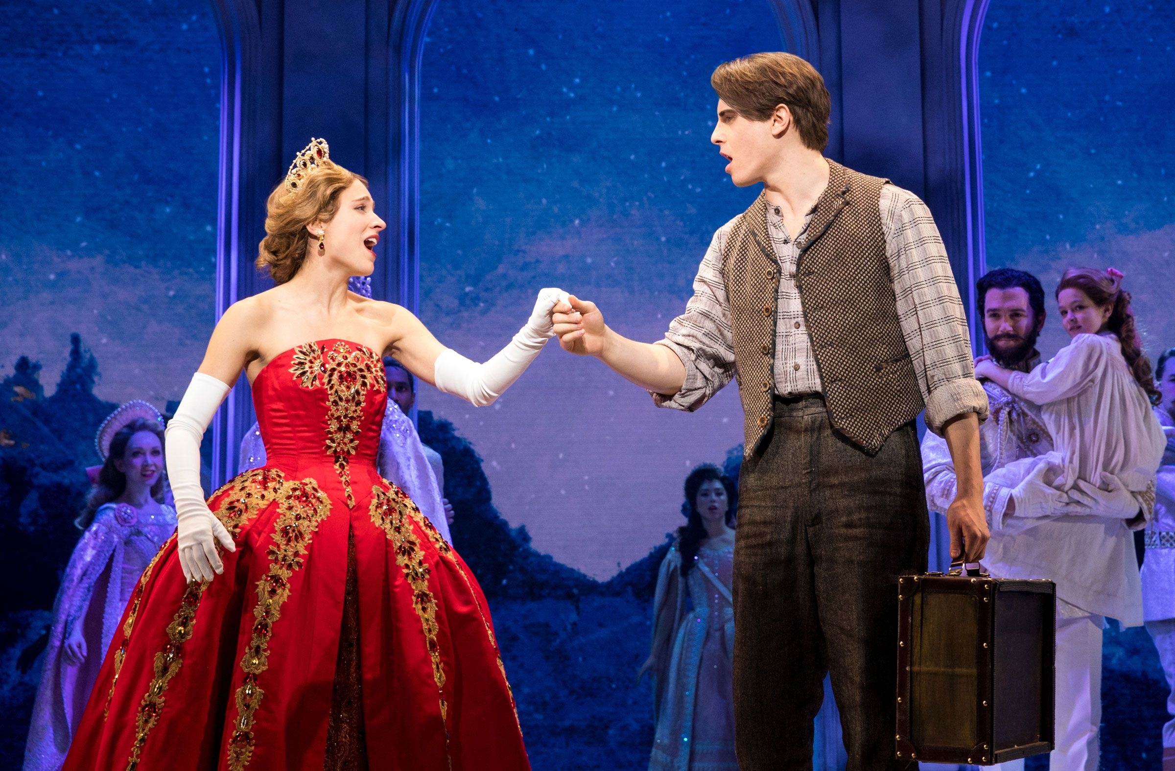 How Christy Altomare Got Her Start - Christy Altomare as Anastasia