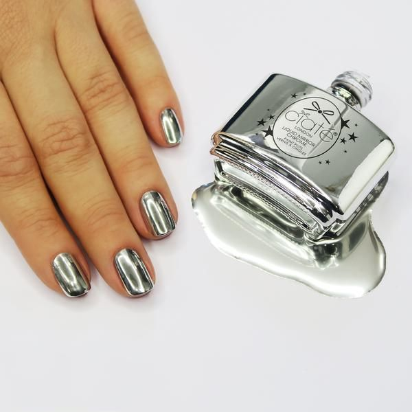 21 Chrome Nails From Mirror Nail Polish To Acrylic Nail