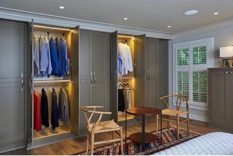 Rev-a-shelf adjustable pull down closet rods