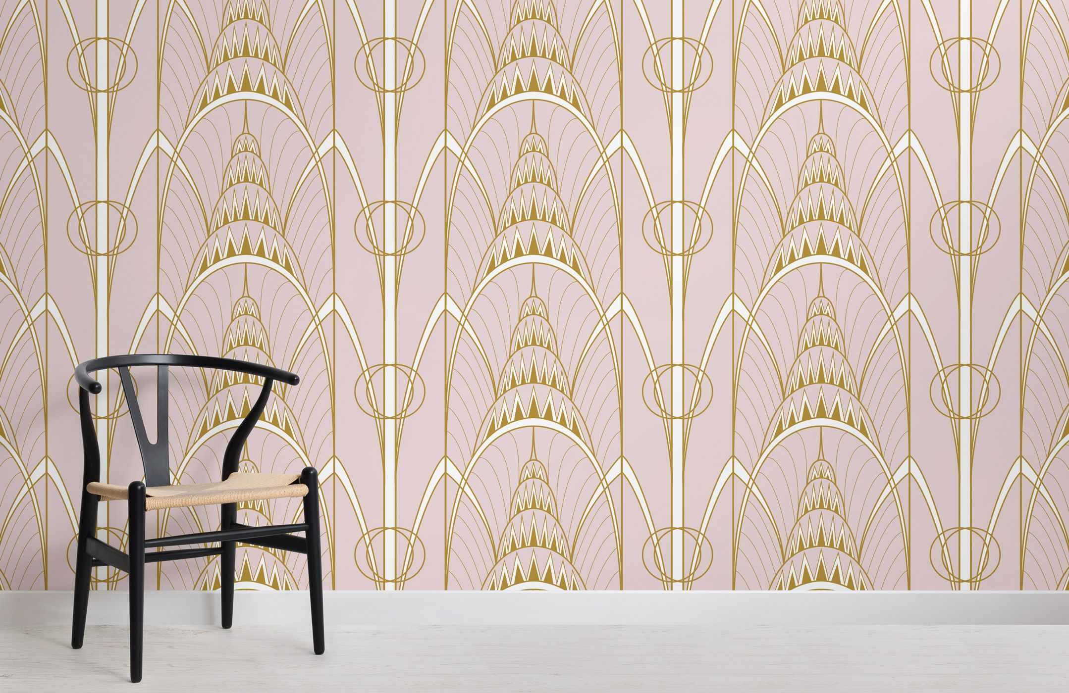 These stylish wall murals celebrate 90 years of the Chrysler Building