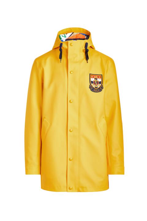 Chubasquero amarillo hombre Polo Ralph Lauren