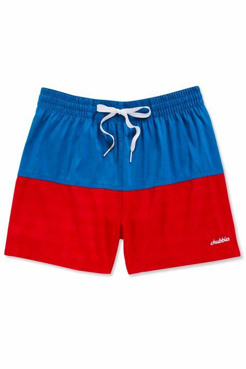 Clothing, board short, Shorts, Trunks, Active shorts, rugby short, Swimwear, Sportswear, Electric blue, Waist,