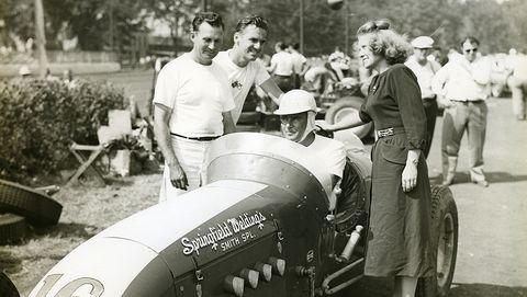 chuck stevenson   aaa indy car 1952
