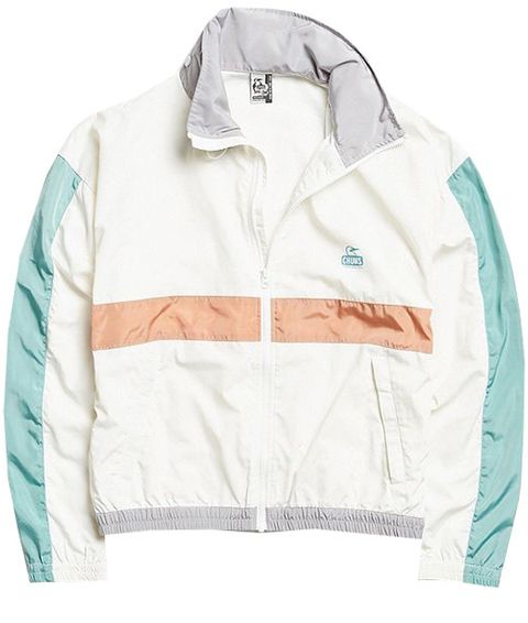 Clothing, White, Jacket, Outerwear, Sleeve, Sweatshirt, Turquoise, Hood, Sweater, Hoodie,