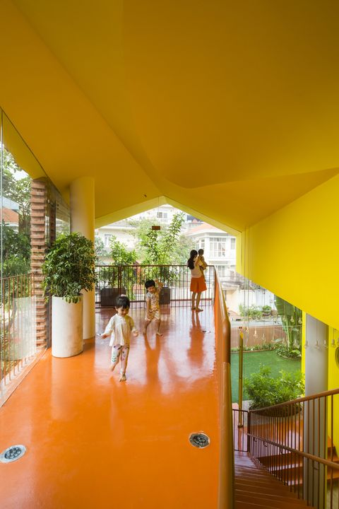 Escuela infantil de arquitectura inspirada en Lego