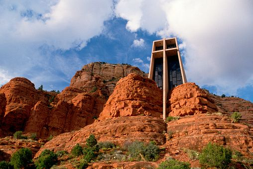 Church Amongst Red Rock