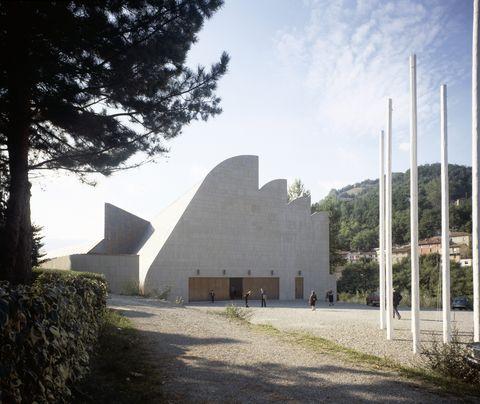 Church at Riola di Vergato, near Bologna, 1978