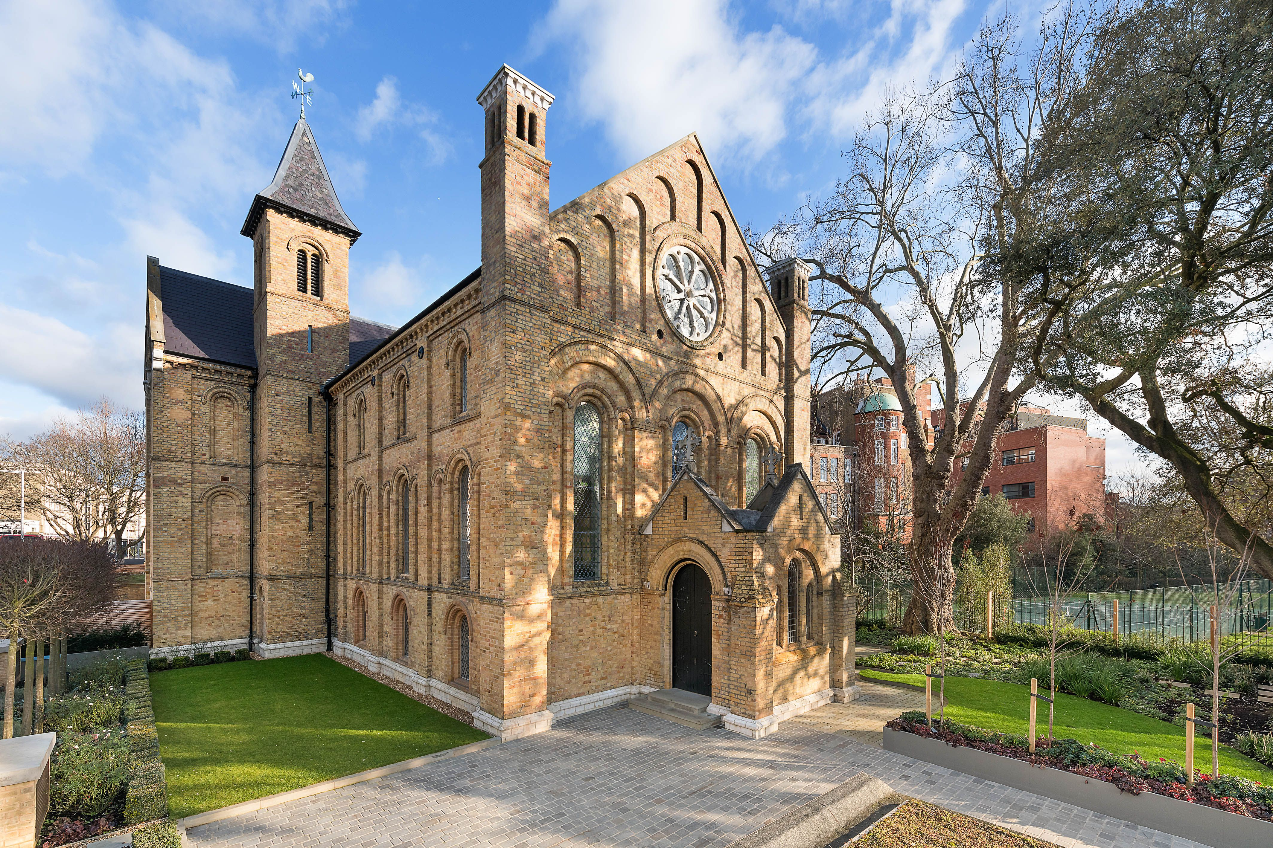Incredible church conversion for sale in Fulham, London, for £15 million