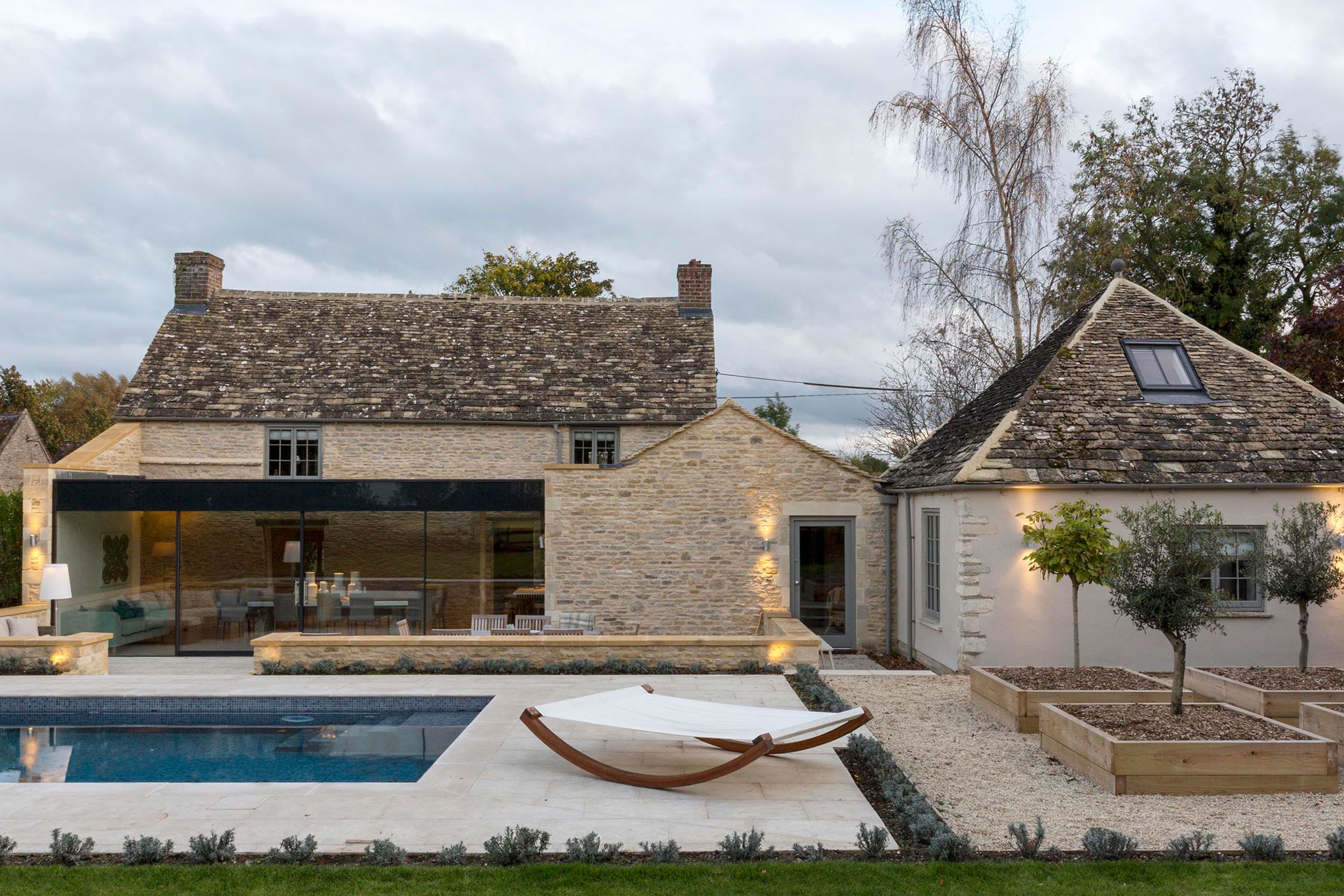 Church Cottage in the Cotswold