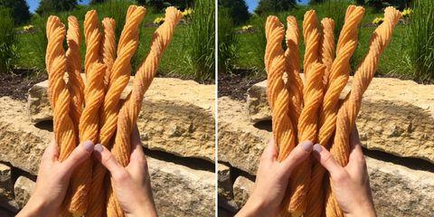 Finger, Hand, sugar pine, Snack, Bread, Plant, Breadstick,