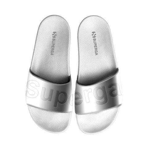 Footwear, Slipper, Shoe, Product, Plimsoll shoe, Silver, Sneakers, Outdoor shoe,