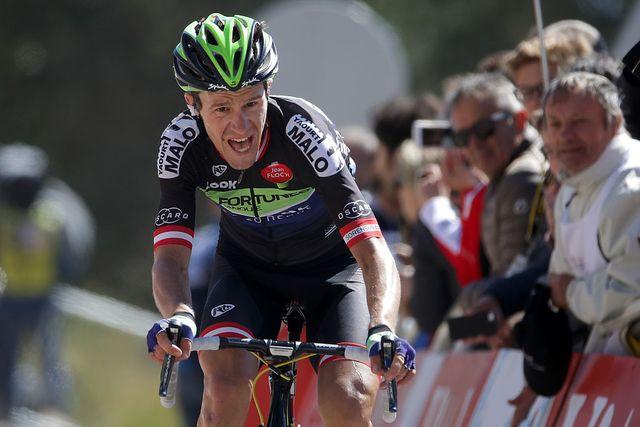 chris anker sorensen en el tour de francia del año 2016
