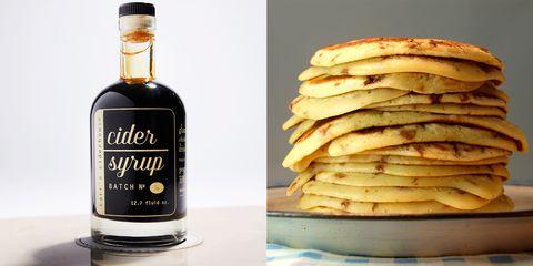 Pancake, Liqueur, Drink, Distilled beverage, Food, Alcoholic beverage, Ingredient, Dish, Breakfast, Cuisine,