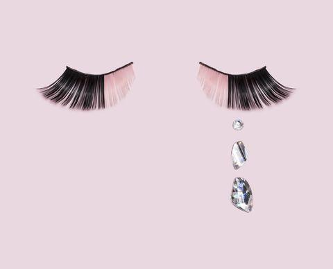Eyelash, Cosmetics, Eyebrow, Eye, Product, Eyelash extensions, Beauty, Skin, Organ, Pink,