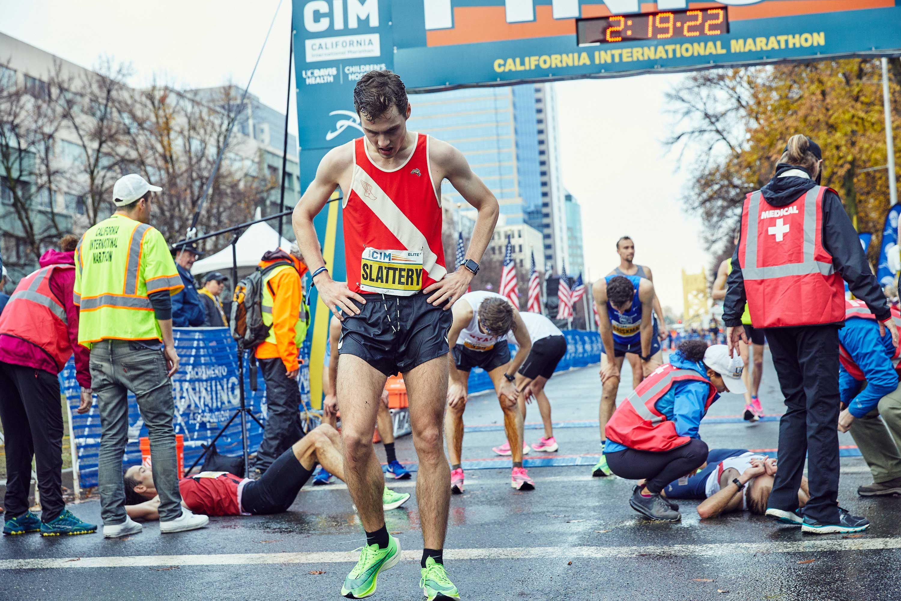 Scenes of Runners Qualifying for the Olympic Marathon Trials