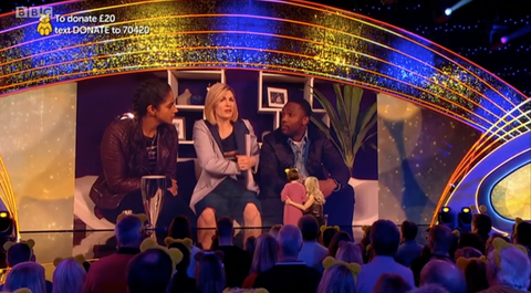 Doctor Who Star Jodie Whittaker Returns On Children In Need
