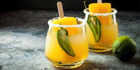 Drink, Juice, Food, Non-alcoholic beverage, Alcoholic beverage, Sour mix, Cocktail, Ingredient, Beer cocktail, Distilled beverage,