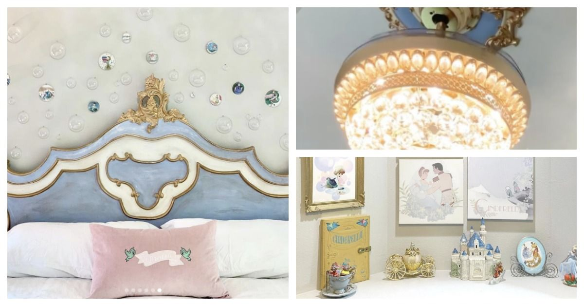 This Cinderella Inspired Disney Princess Bedroom Is Magical