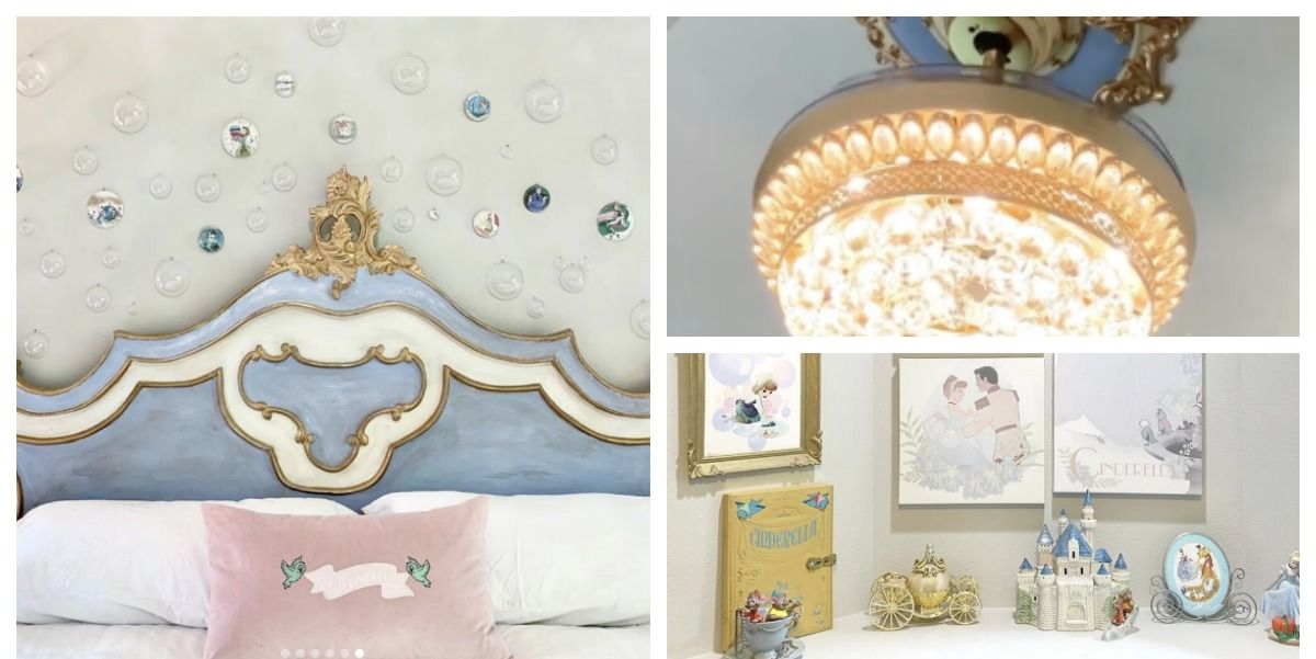 This Cinderella-Inspired Disney Princess Bedroom Is Magical