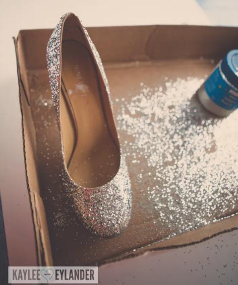 cinderellacostumeideasglitter heels