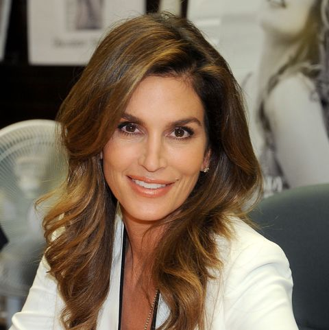 Cindy Crawford Just Posted a Radiant No-Makeup Selfie at the Beach