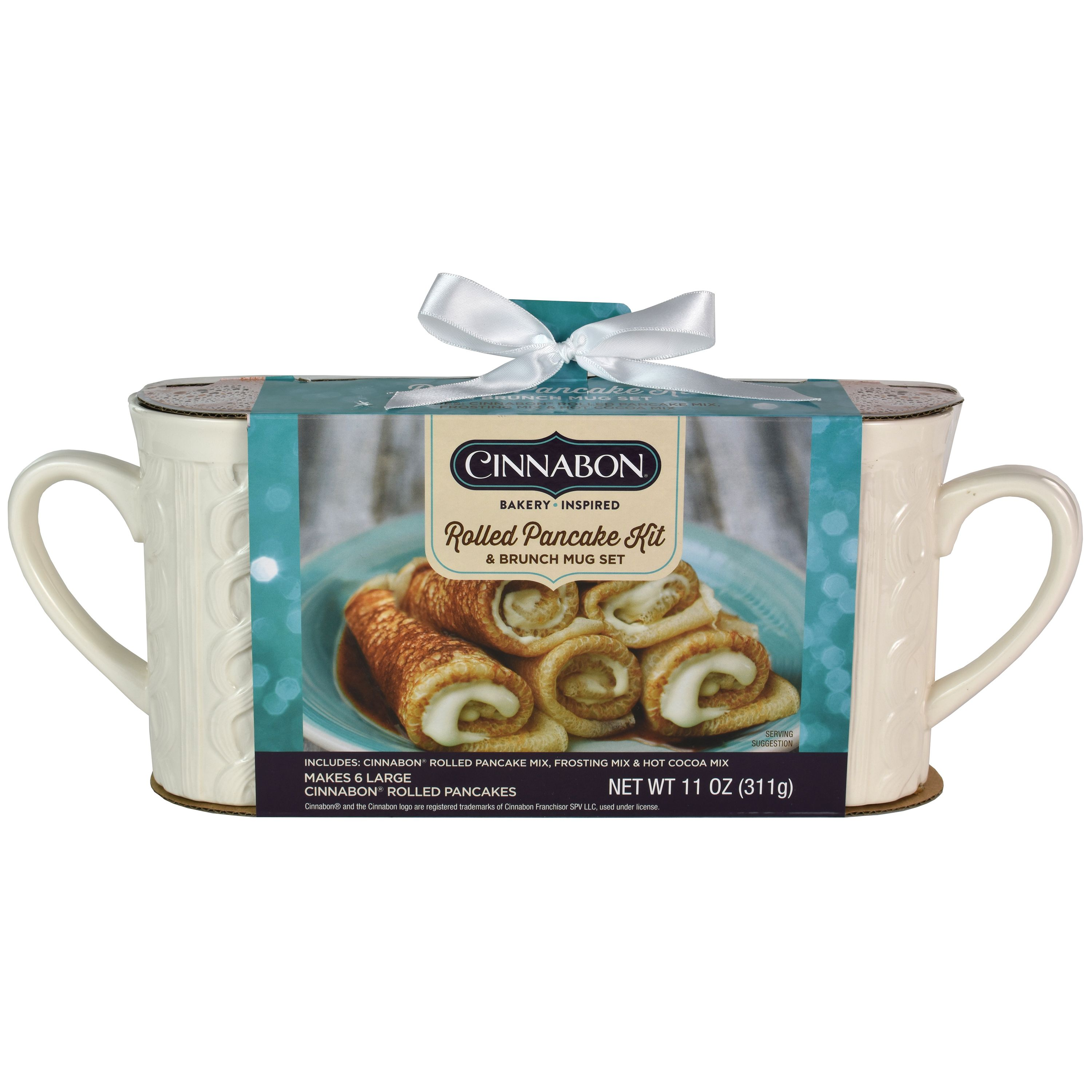 Walmart Is Selling A Cinnabon Rolled Pancake Kit To Help Make The Ultimate Winter Breakfast