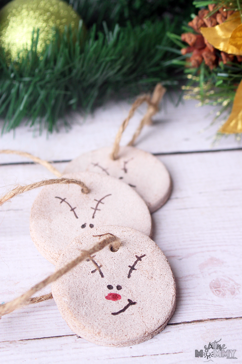 cinnamon christmas ornaments reindeer