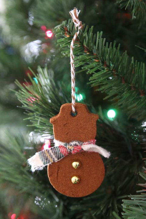 cinnamon christmas ornaments snowman