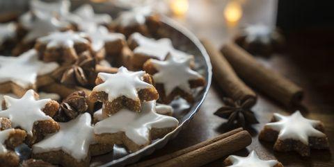 cinnamon star cookies zimtsterne
