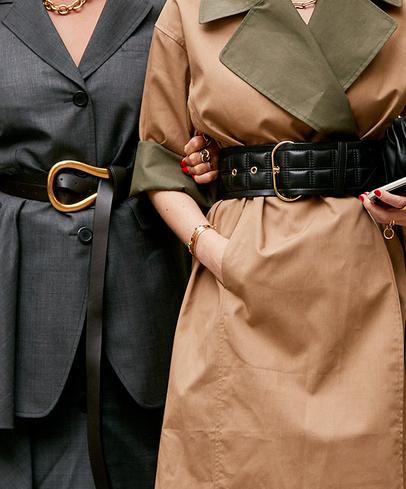 Street fashion, Fashion, Outerwear, Belt, Trench coat, Coat, Dress, Overcoat, Fashion accessory, Costume,