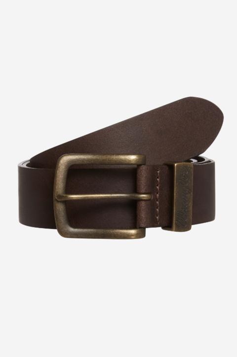 Cinturón piel marrón hombre Wrangler