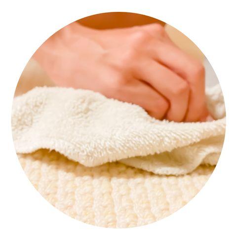 dab cloth