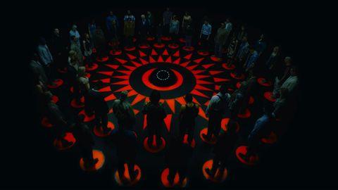 Fractal art, Circle, Art, Spiral, Pattern, Kaleidoscope, Graphics, Psychedelic art, Symmetry, Darkness,