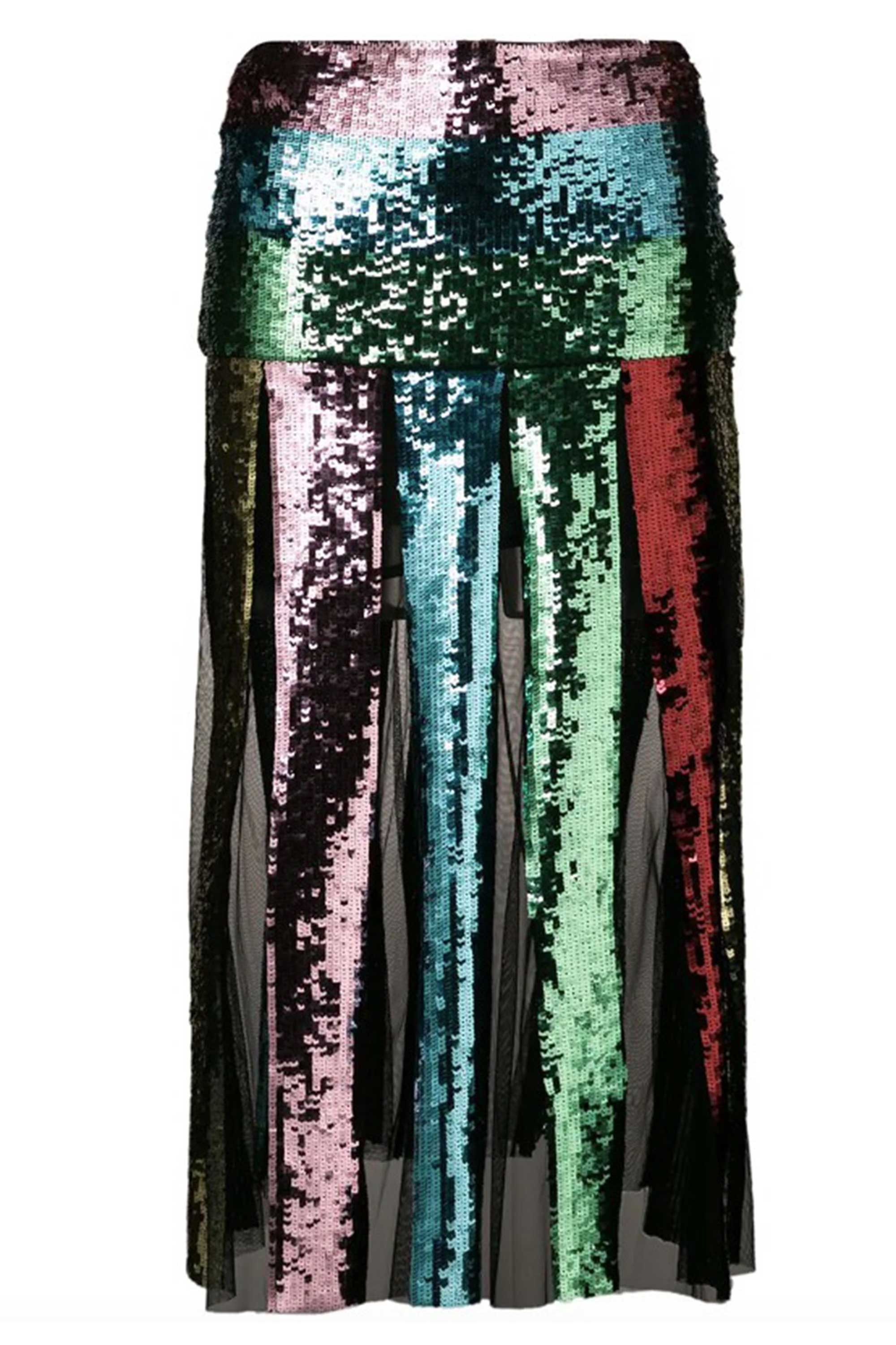 sequinned party skirts