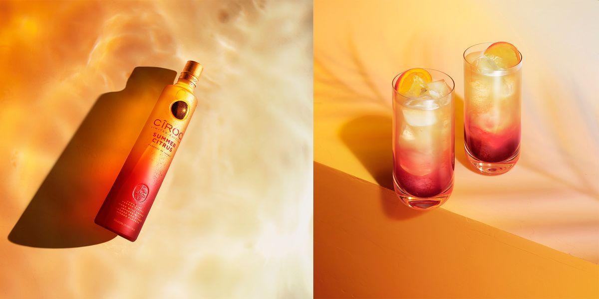 Cîroc's new Summer Citrus vodka is just stunning in its sunset bottle