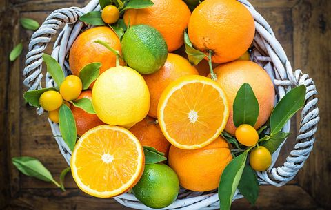 Bowl of citrus fruit