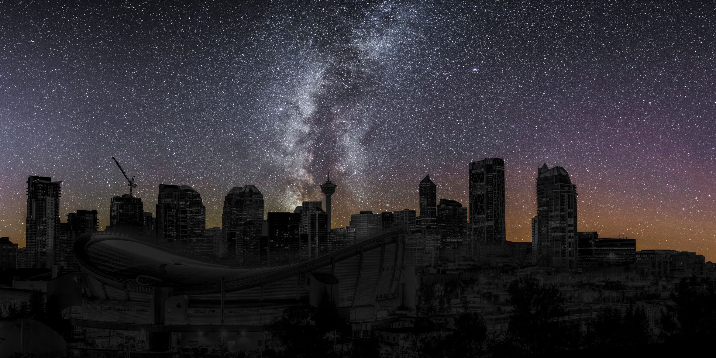 Calgary : city wide blackout