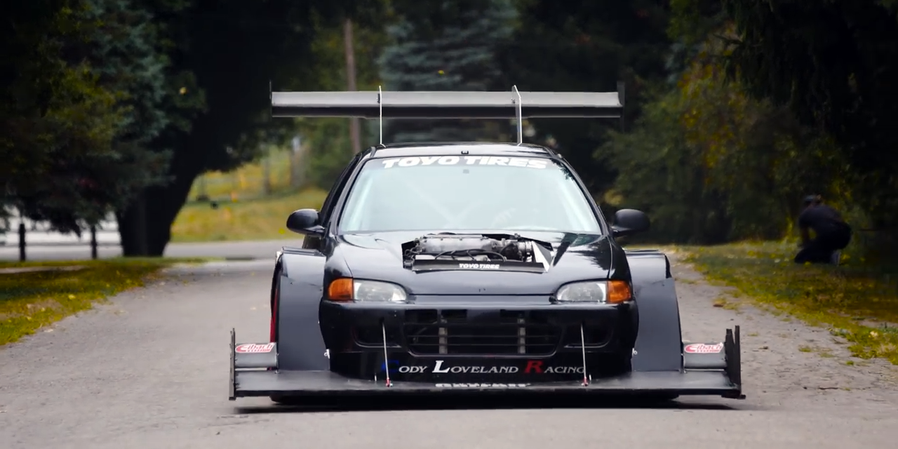 This 1993 Honda Civic Was Built To Climb Mountains
