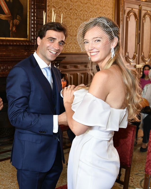 Eleonore Von Habsburg Weds Jerome D Ambrosio In Low Key Royal Wedding