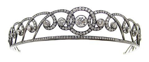 diamond, tiara, French