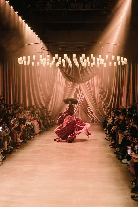 best fashion week set design