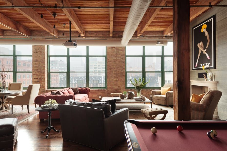 image & Sophisticated Lofts - Loft Apartment Design Ideas