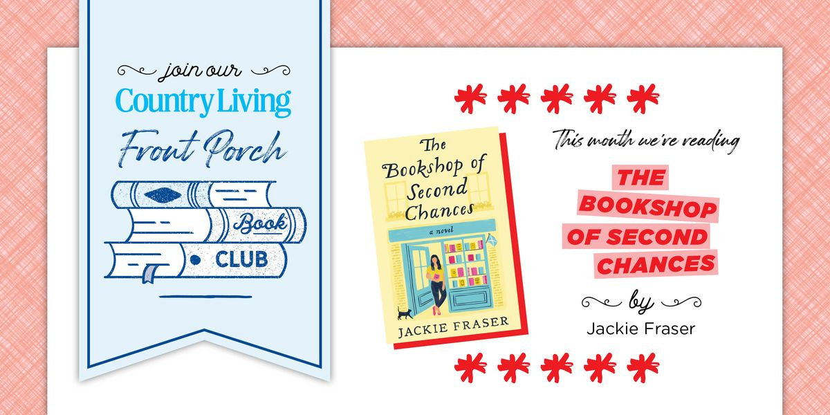 Our May Front Porch Book Club Pick is 'The Bookshop of Second Chances'