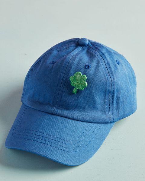 mini four leaf clover pin